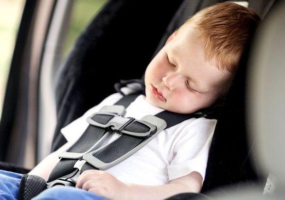 حسگری برای نجات جان کودکان جا مانده در خودرو!