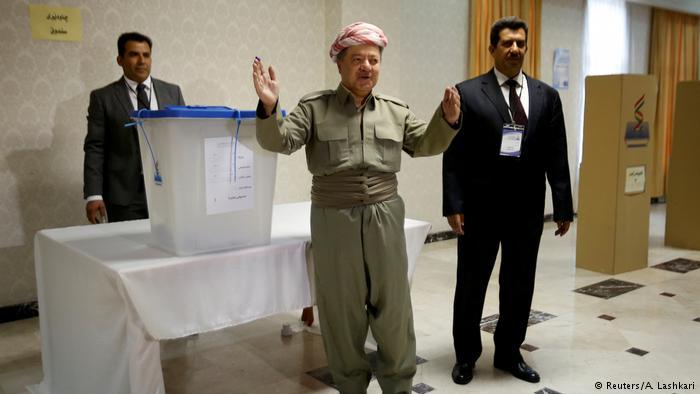 ارسال نامه استعفای بارزانی به پارلمان اقلیم کردستان