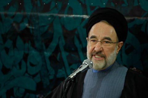 محمد خاتمی: انتخابات نباید تحریم شود؛ مردم ناراضی فداکاری کنند