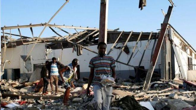 سازمان ملل: نگهبانان به سوی پناهجویان در بازداشتگاهی در لیبی تیراندازی کردند