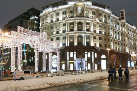 خیابانهای بیبرف؛ شهرداری مسکو به برف مصنوعی متوسل شد.