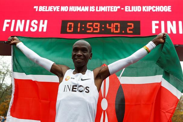 الیود کیپچوگه، نخستین انسانی که ماراتن را زیر دو ساعت دوید