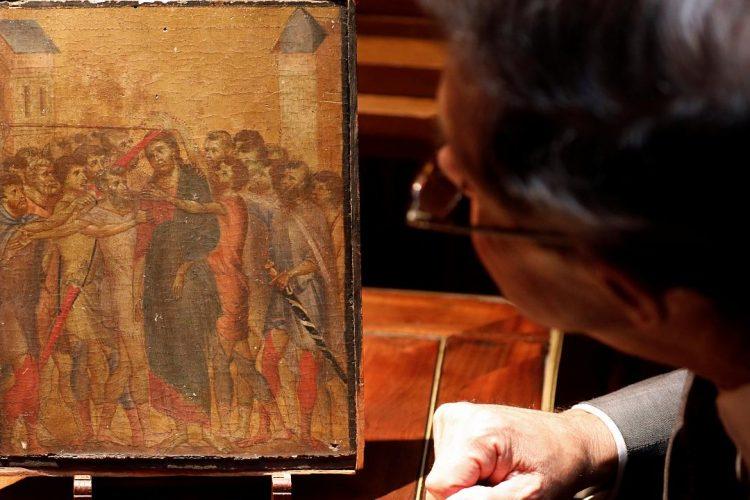 شاهکار نقاشی ۷۰۰ ساله در آشپزخانه یک زن فرانسوی یافت شد