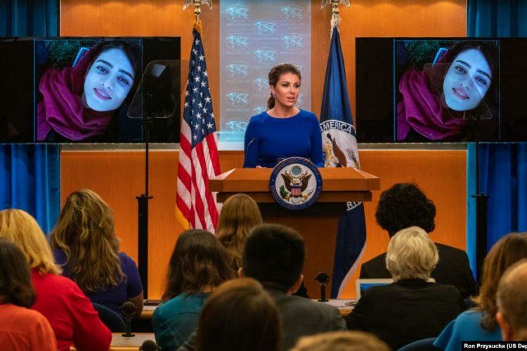 ابراز تاسف وزارت خارجه آمریکا از مرگ سحر خدایاری: از مبارزه مردم ایران علیه رژیم حمایت میکنیم