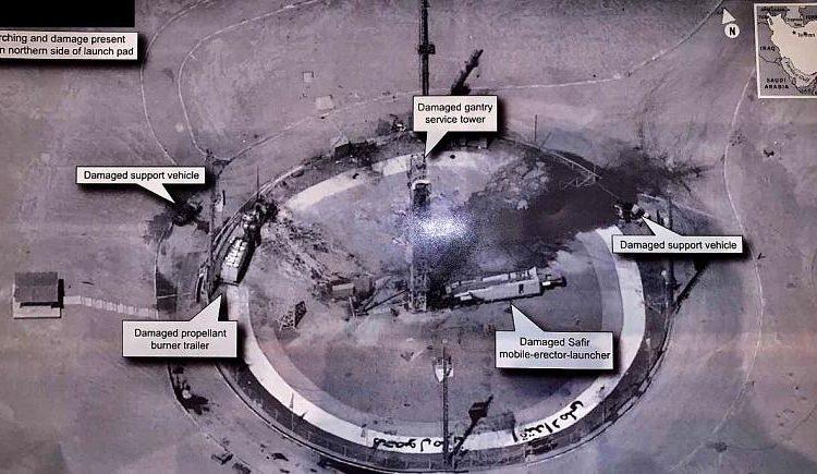ترامپ: هیچ نقشی در انفجار سکوی موشک ماهوارهبر ایران در سمنان نداشتیم.