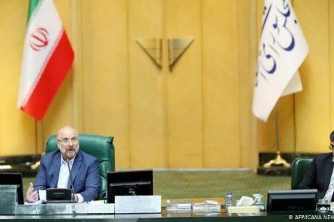 نخستین نطق قالیباف در مجلس؛ تبعیت از خامنهای، انتقاد از دولت و آمریکا!