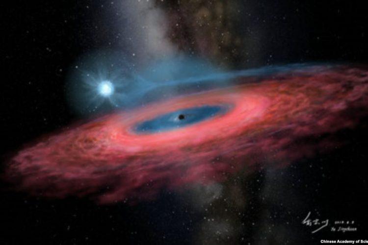 کشف یک سیاهچاله غولپیکر؛ اندازه سیاهچاله جدید موجب شگفتی دانشمندان شده است؟!