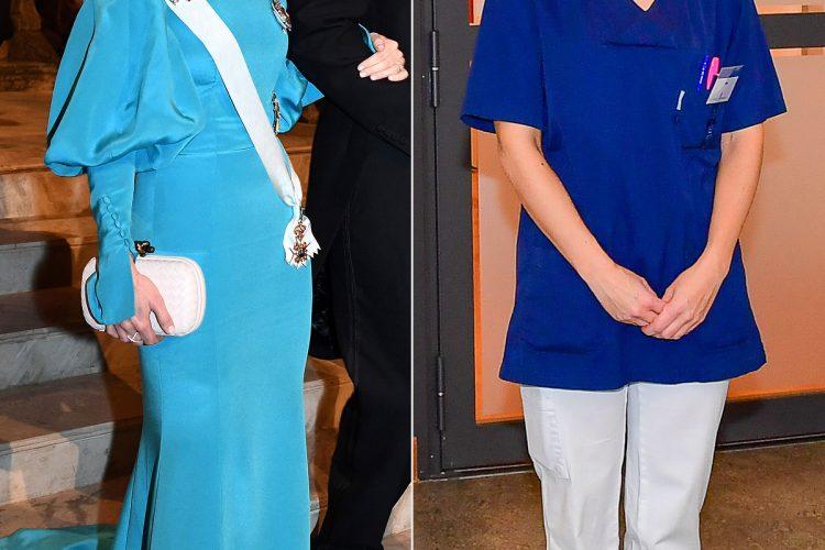شاهدخت سوئد به جمع کارکنان بیمارستان استکهلم پیوست!