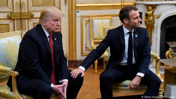 ترامپ فرانسه را به اقدام تلافیجویانه تهدید کرد